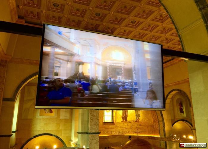 90 inch LCD monitors